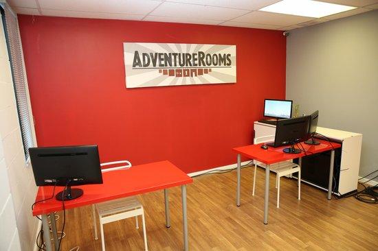 Adventure Rooms: Welcome!