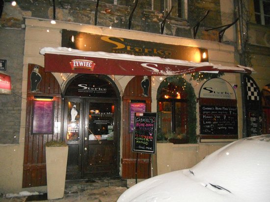 Restauracja Starka: entrata