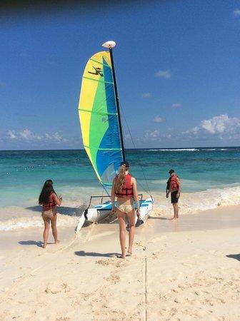 Memories Splash Punta Cana: Sailing