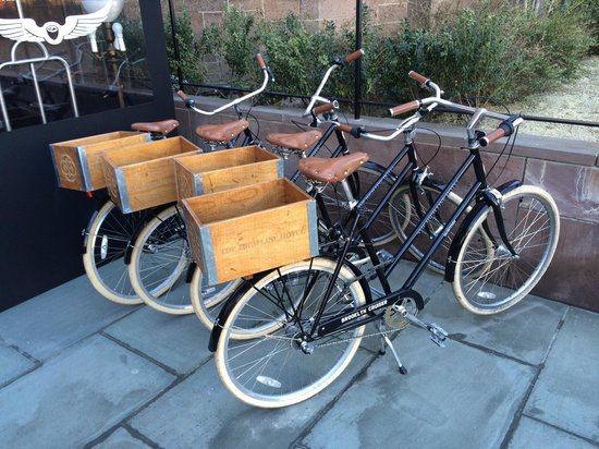 The High Line Hotel: Bikes that are loaned to guests