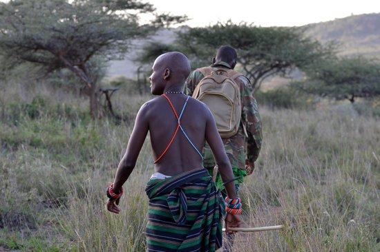 Ol Malo: My guides on a walking safari