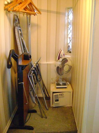Eastwell Manor : Wardrobe with all room mod cons!