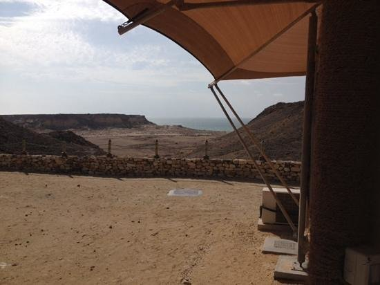 Ras al-Jinz Turtle Reserve: View from Tent