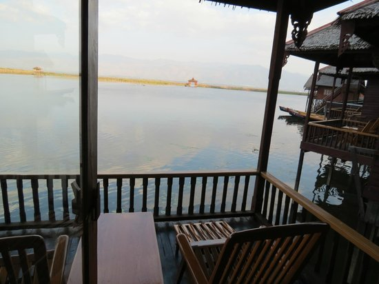 Hupin Hotel Khaung Daing: view from room