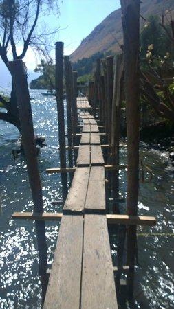 Hotel el Arca de Noe: path to Jaibalito