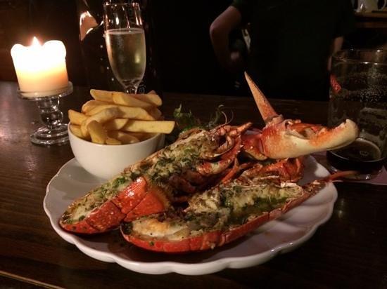 Applecross Inn: the best lobster anywher