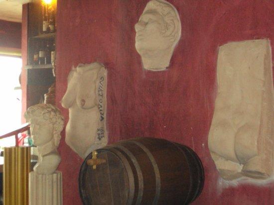 Vecchia Roma : Knus interieur
