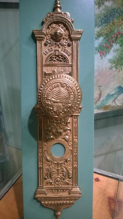 Church History Museum : Very nice door handle