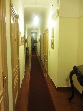 Hotel Rex : corridoio