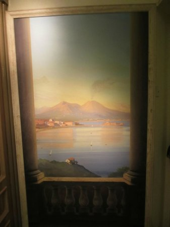 Hotel Rex: parete dipinta