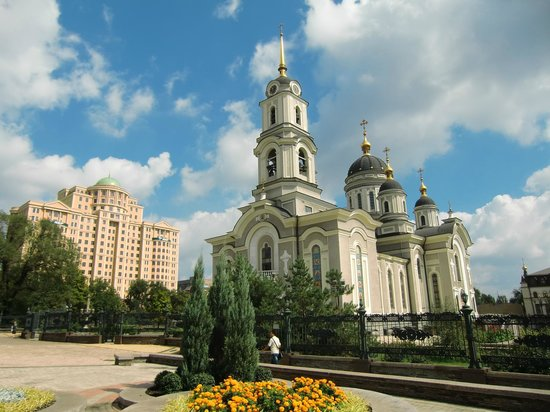 The Holy Transfiguration Cathedral: .