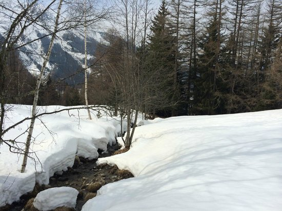 Sainte-Foy: From a walking trail