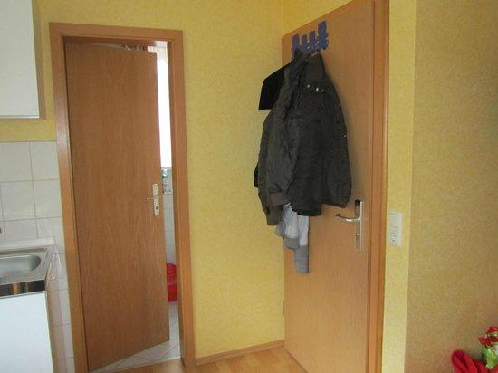 Pension Bodesprung: Eingangstür