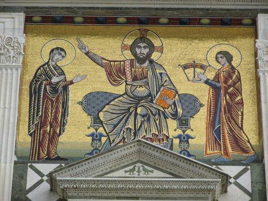 Basilica San Miniato al Monte : Above the entrance