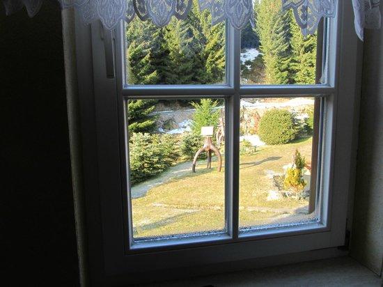 Pension Bodesprung: Blick aus dem Fenster 1
