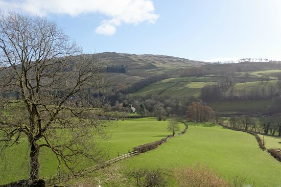 High Fold Guest House: View from the Applethwaite Suite.