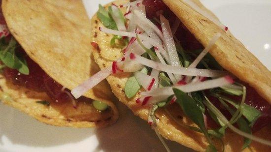 Park Central Hotel New York: ahi tuna tacos