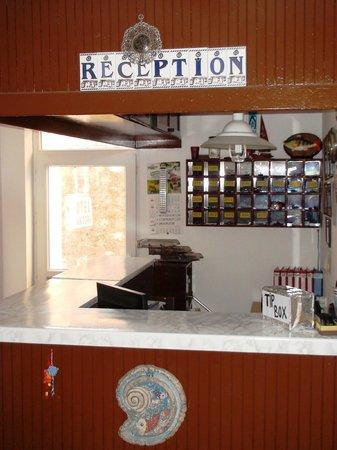 Angora Hotel : Reception area