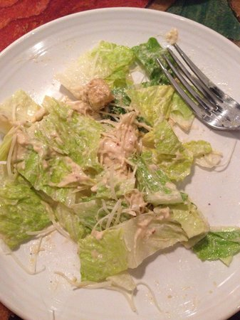 Carrabba's Italian Grill: With the wonderful dressing