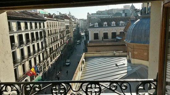 Hotel Francisco I: vistas desde la habitación