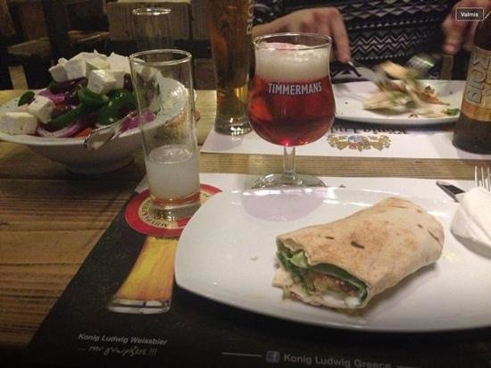 BeerTime: falafel + beers