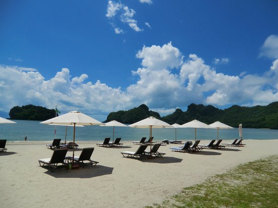 Tanjung Rhu Resort: 天国のビーチ
