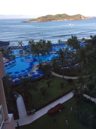 Azul Ixtapa Beach Resort & Convention Center : from 6th flour- view