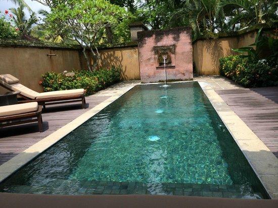The Chedi Club Tanah Gajah, Ubud, Bali – a GHM hotel: Private pool
