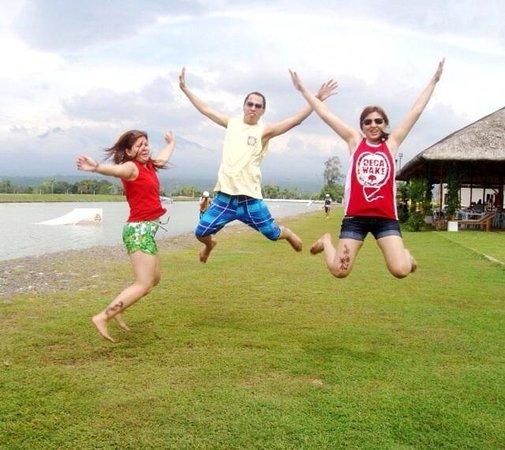 DECA Wakeboard Park: DECA jump!