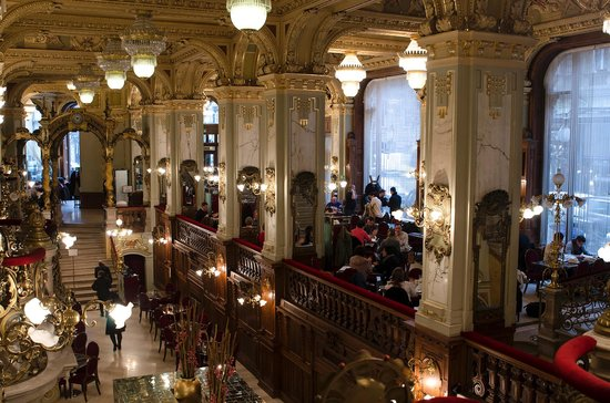 Boscolo Budapest, Autograph Collection: New York café