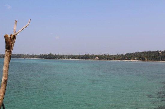 Seavana Beach Resort Koh Mak: vista de la playa del hotel Seavana