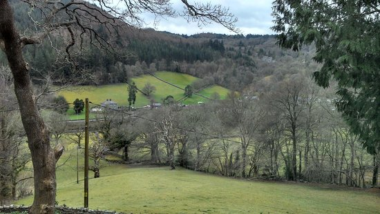 Tan Dinas Country House: View from The Cedar Room