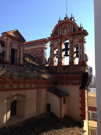 Gran Melia Colon: View of church bells - from room
