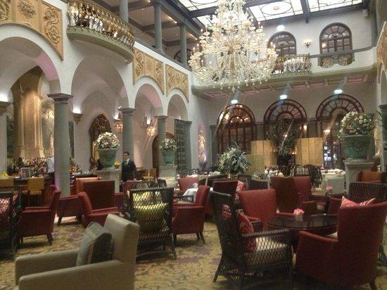 The St. Regis Florence: lobby restaurant