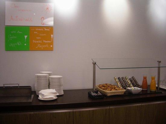 Novotel Munich Airport: Early breakfast