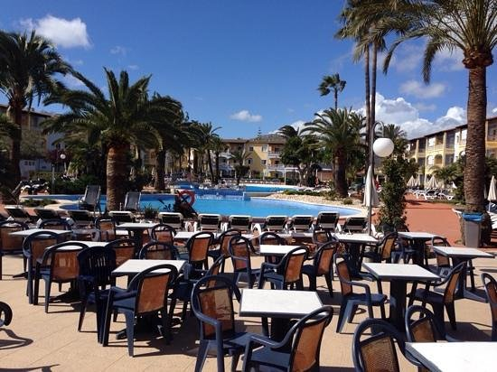 Alcudia Garden Aparthotel: bar piscina
