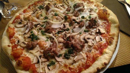 La Dent Creuse : Pizza le borgne
