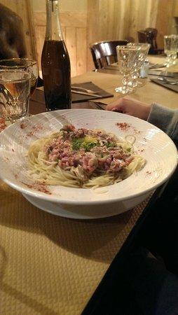 La Dent Creuse : Spaghetti Carbonara