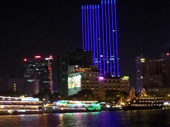 Hotel Majestic Saigon : From the river view of Saigon