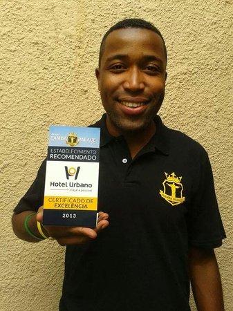 Samba Palace Hostel: prêmio de melhor hostel