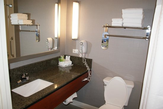 Holiday Inn Express Hotel & Suites San Francisco Fisherman's Wharf: Bathroom