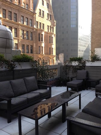 The Chatwal, A Luxury Collection Hotel, New York: Room707/708 Terrace