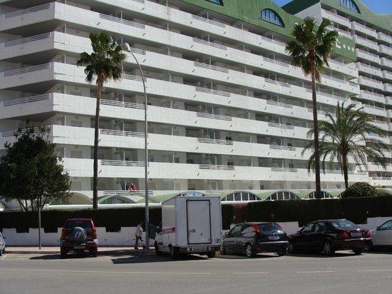 AR Roca Esmeralda & SPA Hotel : VISTA DEL HOTEL