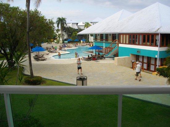 Grand Paradise Playa Dorada : Vue de notre chambre