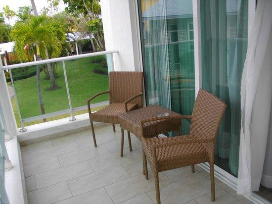 Grand Paradise Playa Dorada : Le balcon