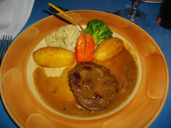 Grand Paradise Playa Dorada : Steak au Edens Grill