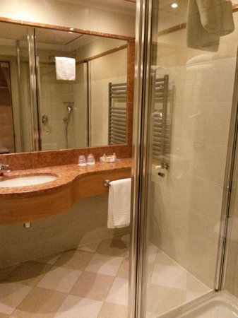 Hotel Cruise: Bathroom