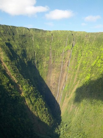 Paradise Helicopters - KONA: View from helicopter ride over big island