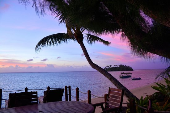 Muri Beachcomber: Sunrise