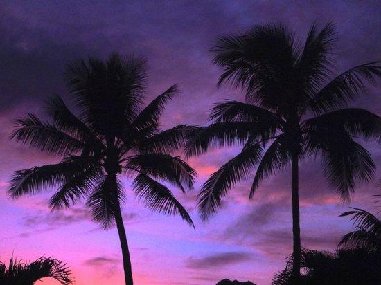 Muri Beachcomber : Sunset